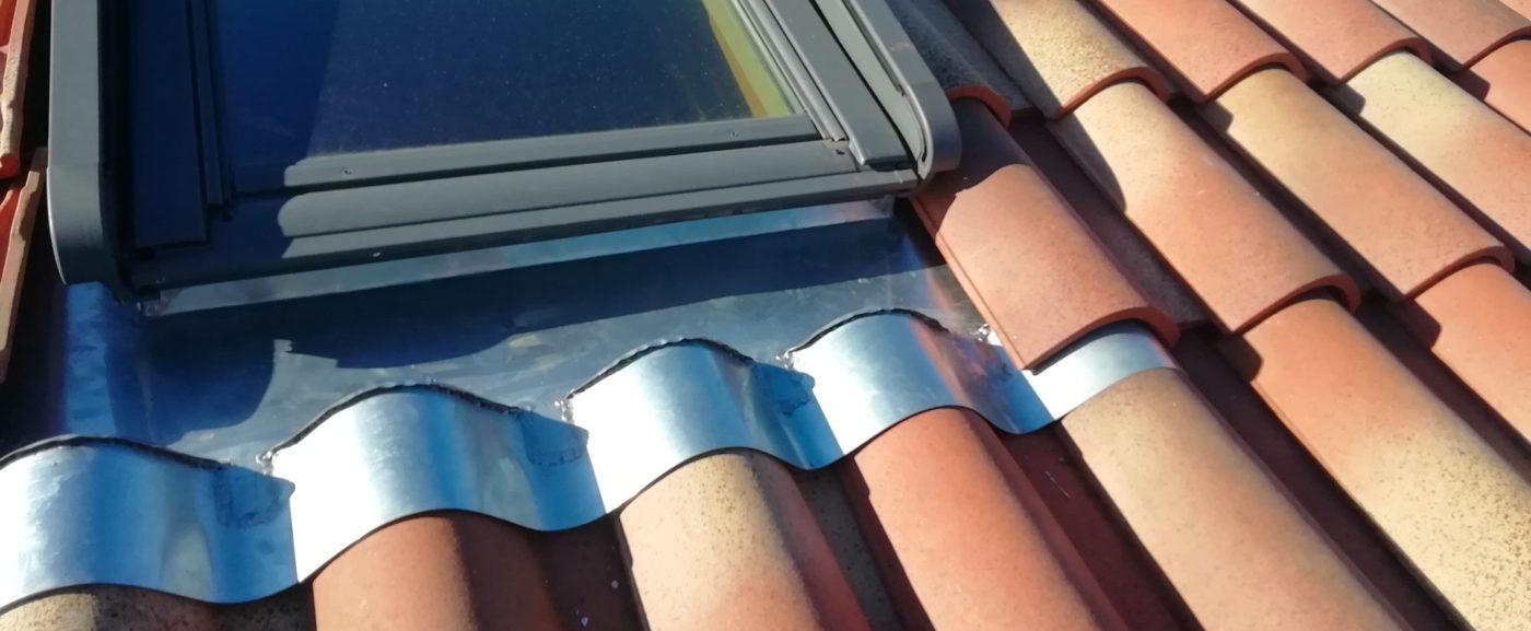 Pose fenêtre de toit type «Velux»